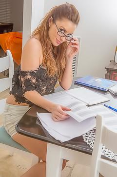 Slutty secretary April Sutton