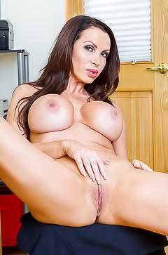 Nikki Benz - boobed horny secretary