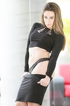 Elegant secretary Cassidy Klein