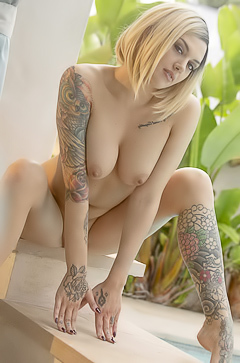 Emma Mae delicious tattoos