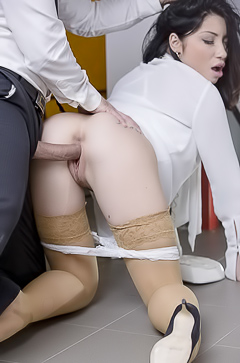 Nasty Porn In Office With Rina Ellis