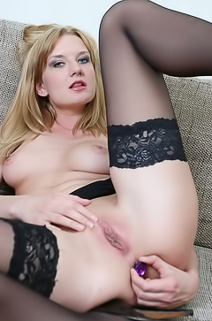 Bree Haze pleasuring anus