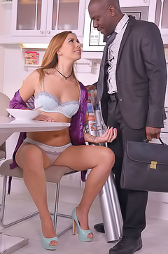 Busy Hubby Bangs His Wife