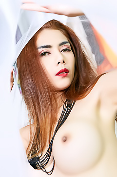 Horny Asian Carolina Fong in Mask