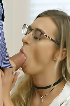 Natalia Starr Gets Fucked Good And Hard Until Covered In Cum